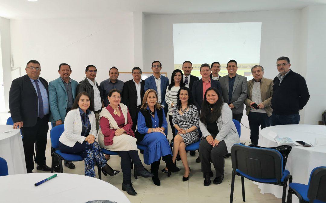 Llevamos a cabo Escuela para Rectores Oficiales de Chía